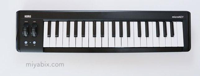MIDI,キーボード,microKEY,KORG