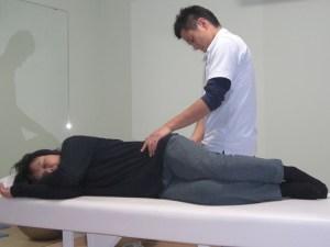 3-2.背骨と骨盤の調整