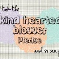 The Kindhearted Blogger Pledge