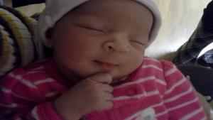 Nevaeh Brokens-Roldan, killed by mom's boyfriend. May she R.I.P.