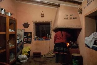 Mumma making dinner
