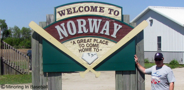 2010 Baseball Trip: Day 4-Norway, IA (1/6)