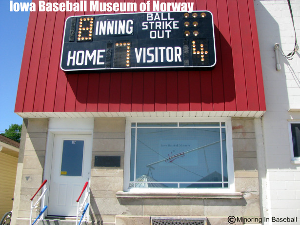 2010 Baseball Trip: Day 4-Norway, IA (3/6)