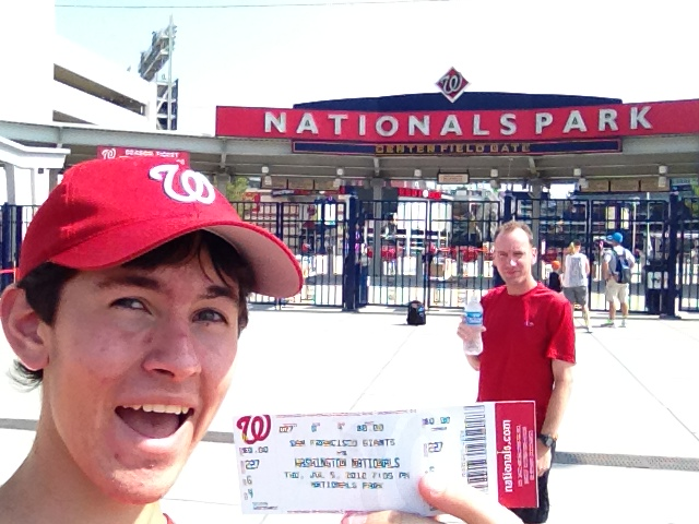 7/5/12 Giants at Nationals: Nationals Park (1/6)