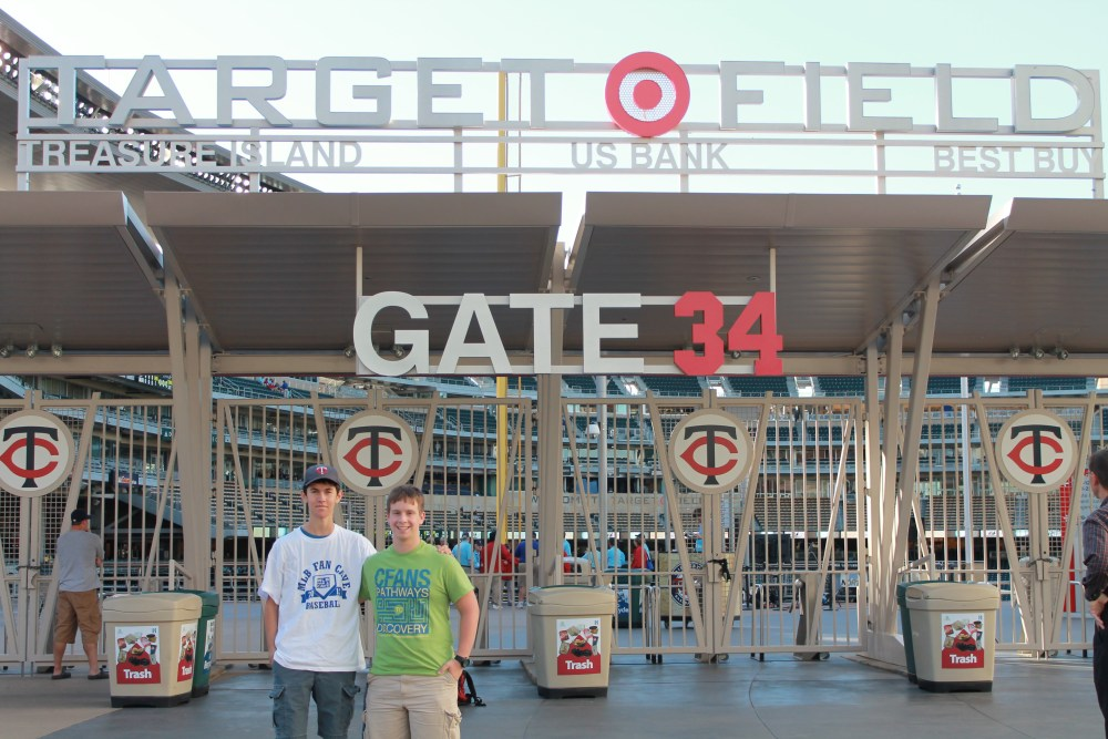 9/13/12 Royals at Twins: Target Field (1/6)