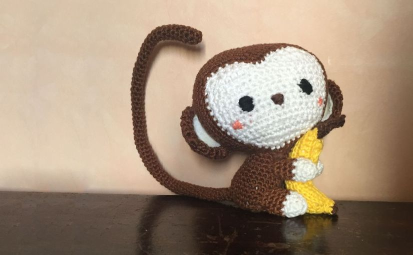 Little Monkey: mon premier amigurumi