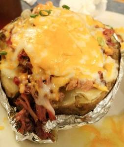 Brisket baked potato