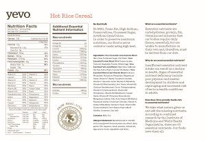 Hot Rice Info Sheet 300x206 YEVO INTERNATIONAL