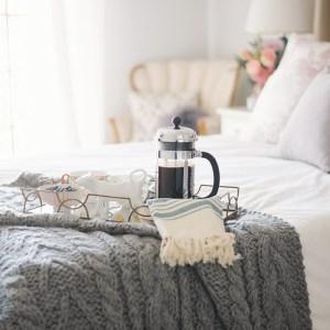 freshening up our bedroom M Loves M