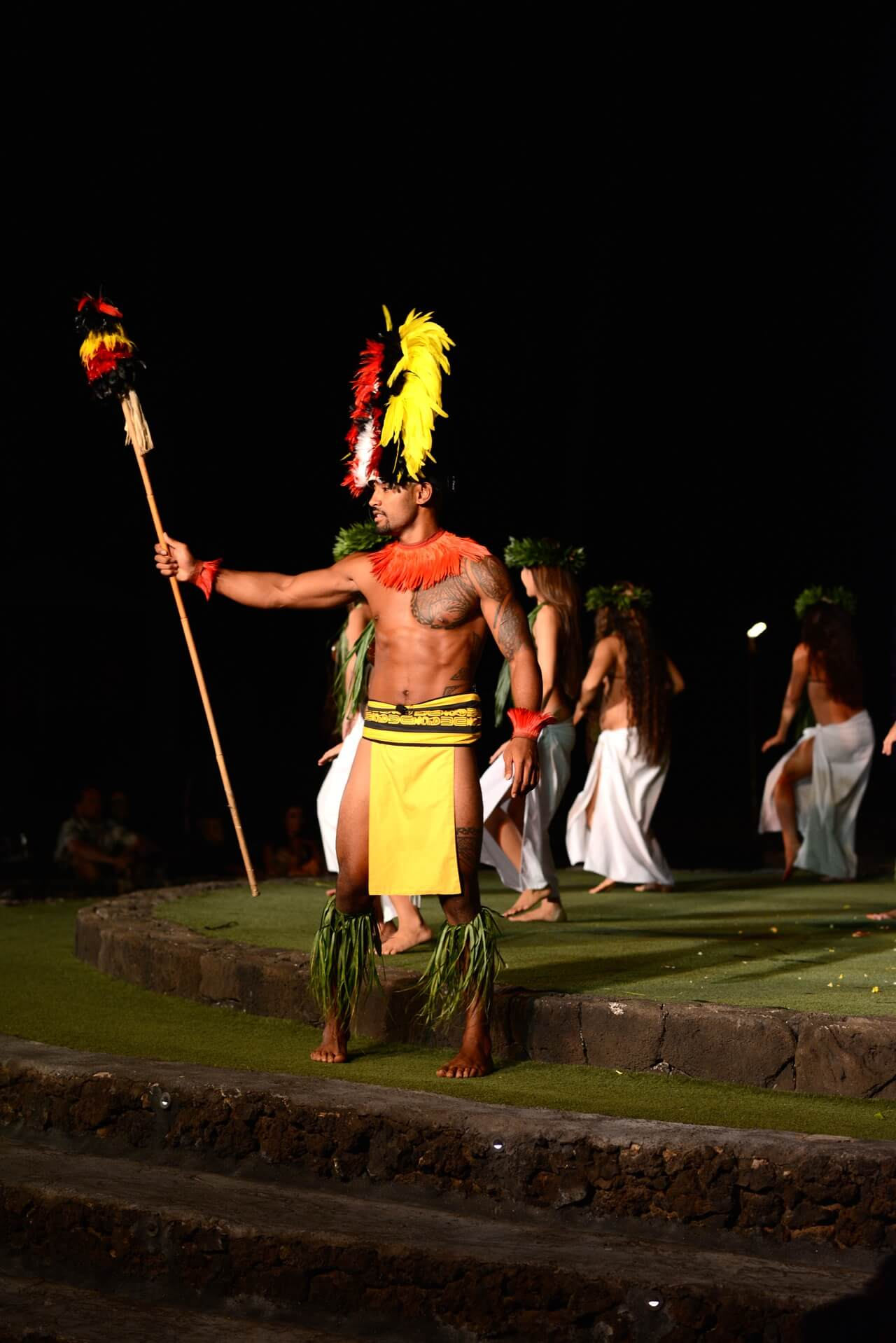 Old Lahaina Luau in Maui is the best luau with the best food