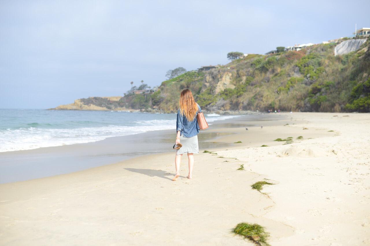 private beach in dana point