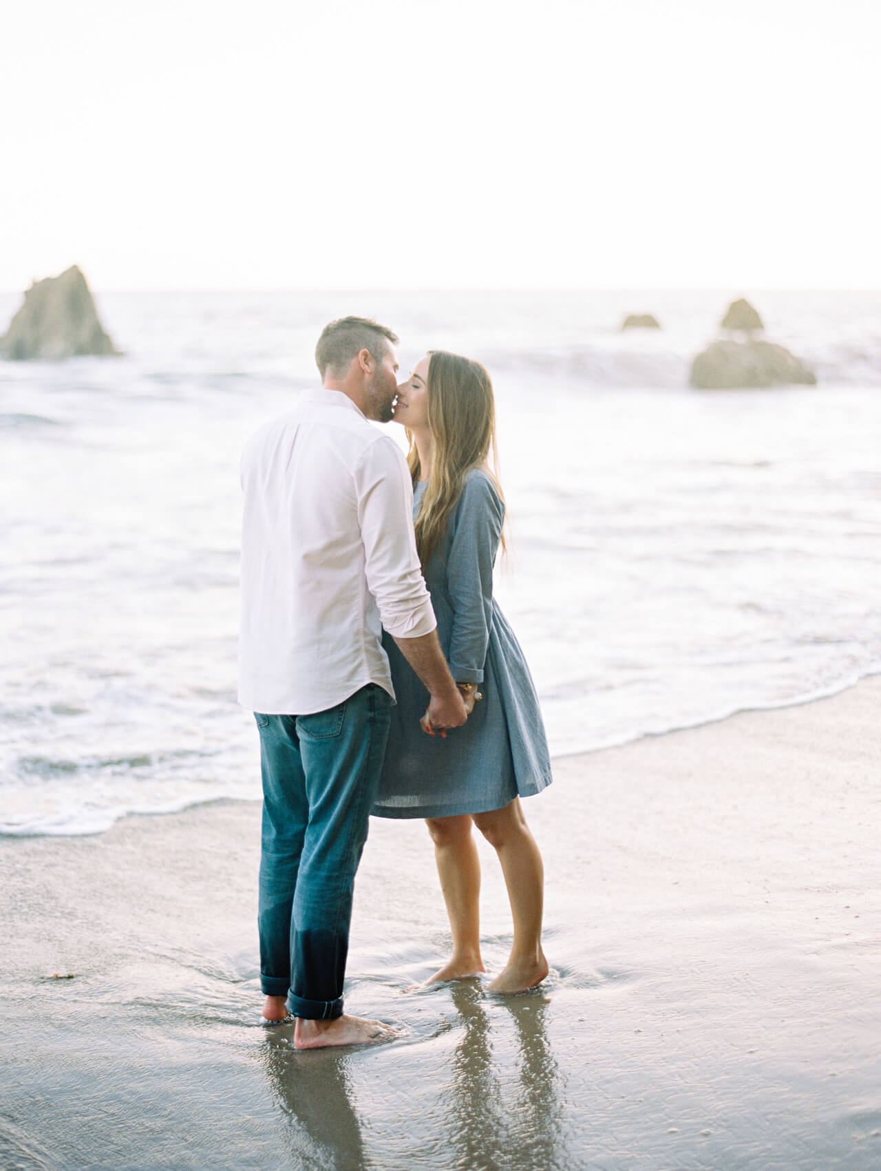 M Loves M couple shoot in Malibu