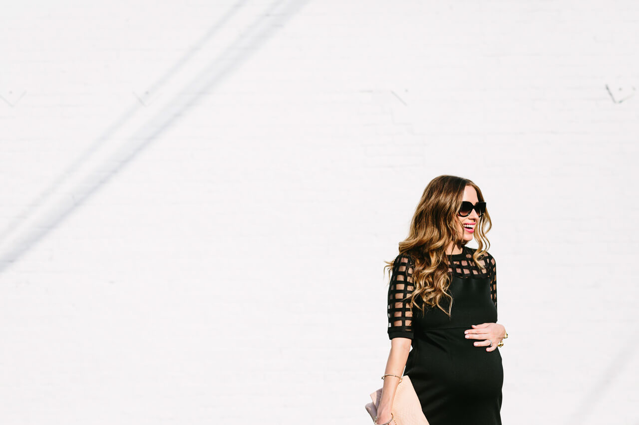 sophisticated maternity outfit inspiration
