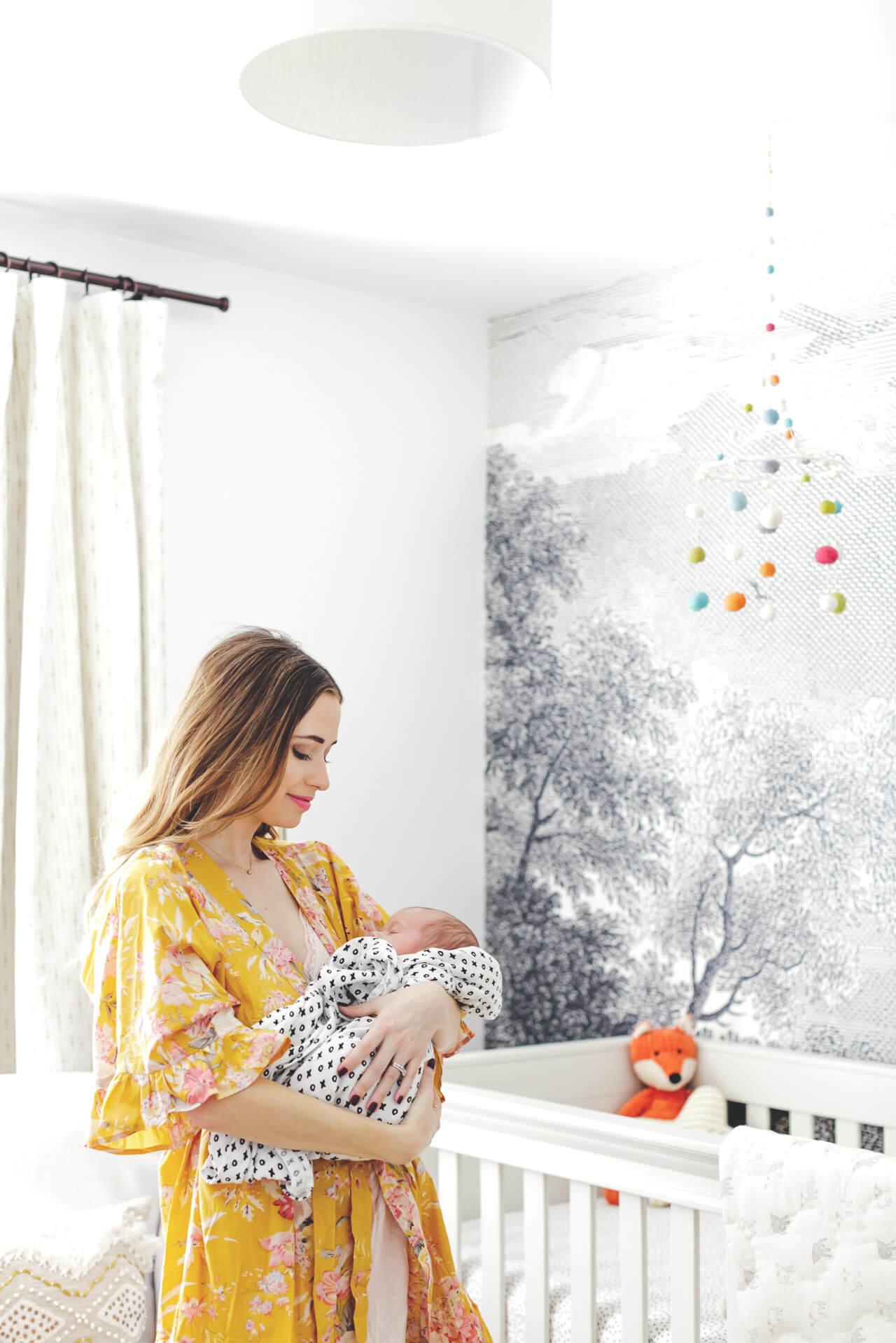 Augustine's Nursery Reveal- a fresh and unique gender-neutral nursery design @marmar