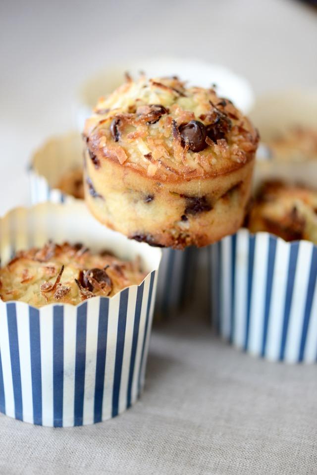 Banana Coconut Muffin Recipe M Loves M @marmar