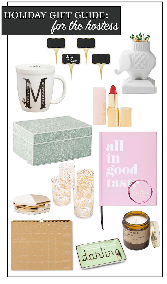 Holiday Gift Guide For The Hostess M Loves M