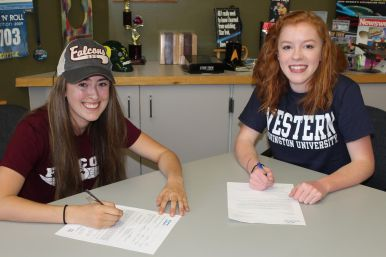 Walter, Schroth Letter of Intent signing 2, Apr. 18