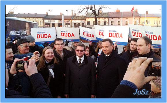 Andrzej Duda w Łasku
