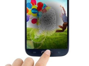 Samsung Galaxy S5 fingerprint sensor
