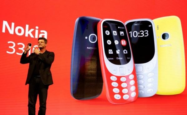 Nokia 3310 Faz Aparição no Mobile World Congress 2017