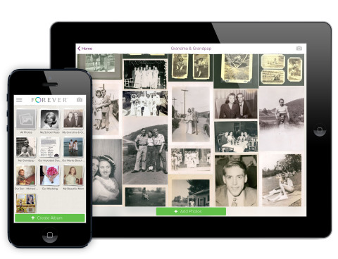 Forever, the world's first permanent online storage and sharing company, announced the release of it ...