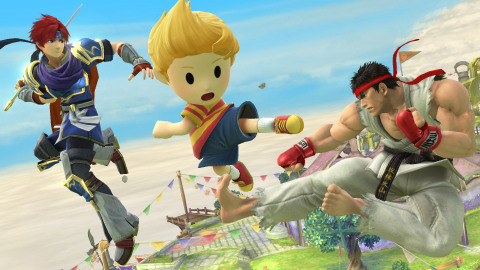 Three new characters join Super Smash Bros. for Nintendo 3DS / Wii U: Ryu from the Street Fighter se ...