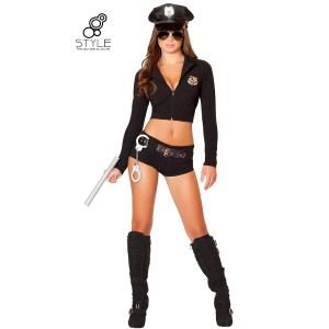 ชุดเซ็กซี่ คอสเพลย์ ตำรวจหญิง สาวๆคนไหนชอบ แสดงเป็นตำรวจขอให้ลองชุดนี้ อิอิ