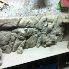 Decor de fond tanganika Aquarium 250