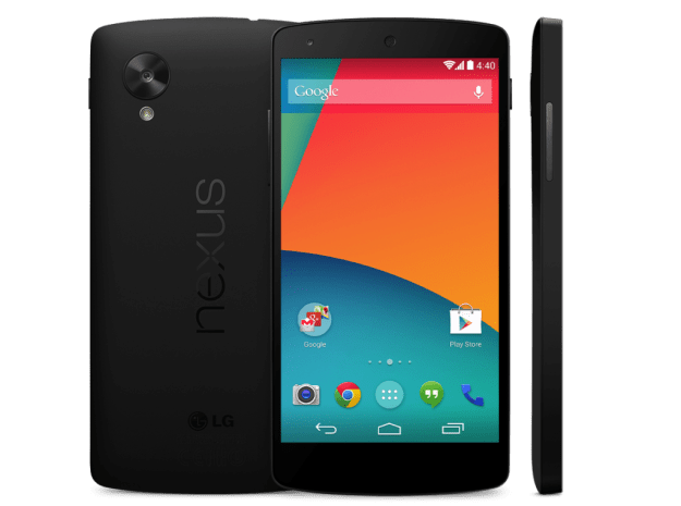 Google Nexus 5 Rendered Image