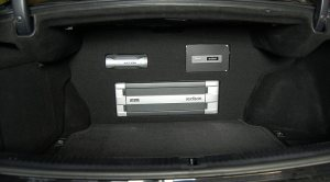 Lexus IS250 trunk