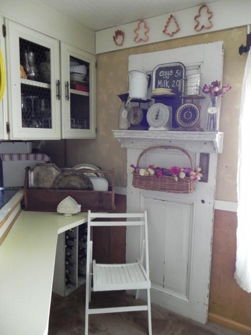 beautiful mobile home makeover - kitchen design