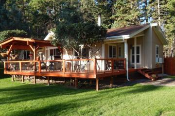 Double wide decking