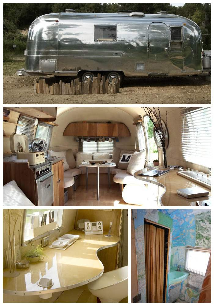 15 awesome airstream interiors mobile and manufactured for Airstream decor