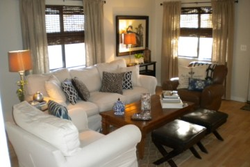 cottage decor in a manufactured home