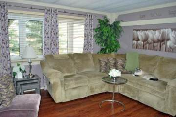 Remodeled Manufactured Home Inspiration - Living room