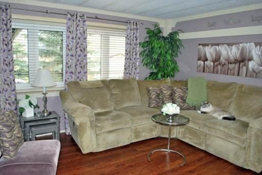 Remodeled Manufactured Home Inspiration - Living room
