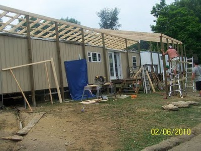 Total Mobile Home Transformation: mobile home addition kits