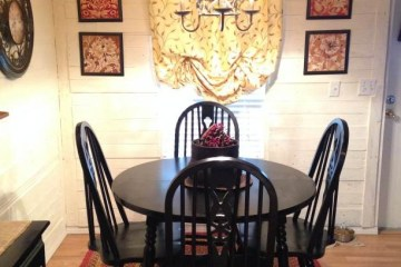 manufactured home makeover (dining room)