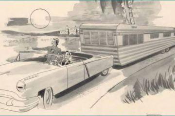 mobile home - Homette illustration