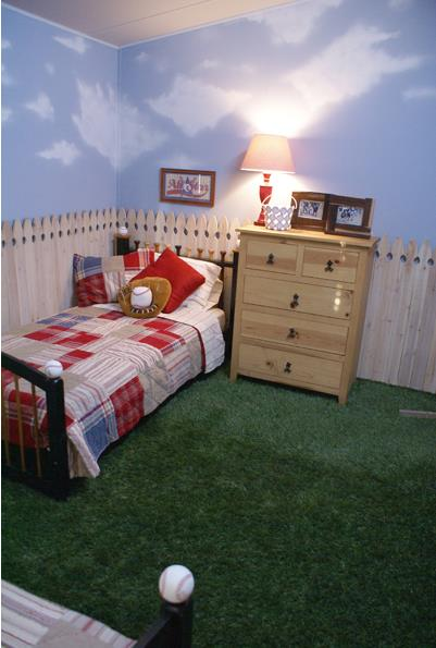 mobile home kids bedrooms ideas