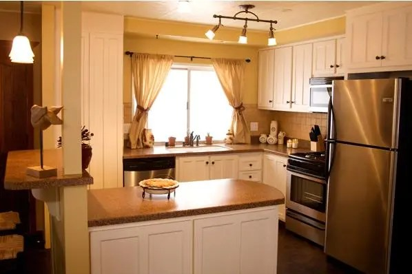 mobile home room ideas - kitchen