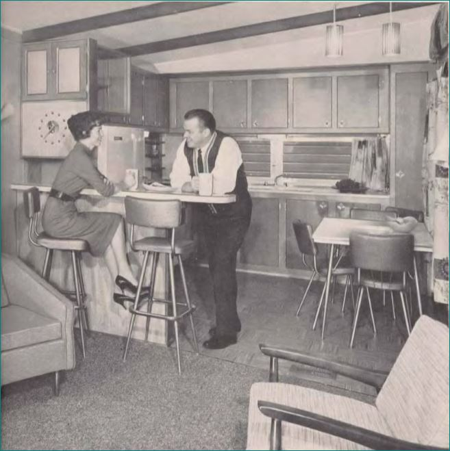 Mobile Home Kitchens From 1955 To 1960