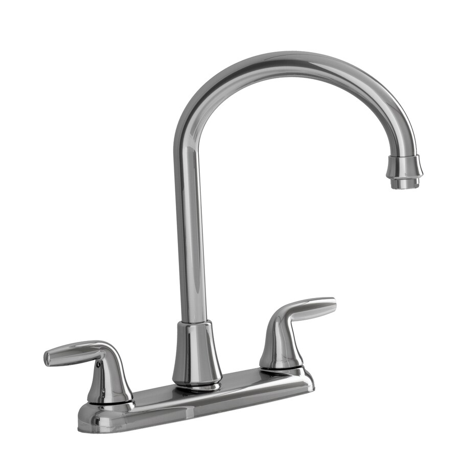kitchen faucets lowes american standard kitchen faucets Shop American Standard Wesley Polished Chrome 2Handle HighArc Kitchen Faucets Lowes