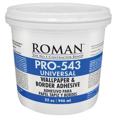 Shop Roman PRO-543 32-oz Liquid Wallpaper Adhesive at Lowes.com