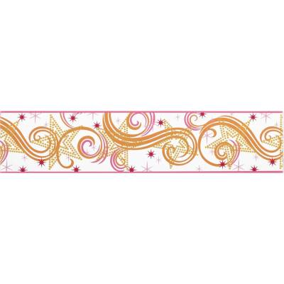 Shop York Wallcoverings 6.75-in Multicolor with Glitter Prepasted Wallpaper Border at Lowes.com