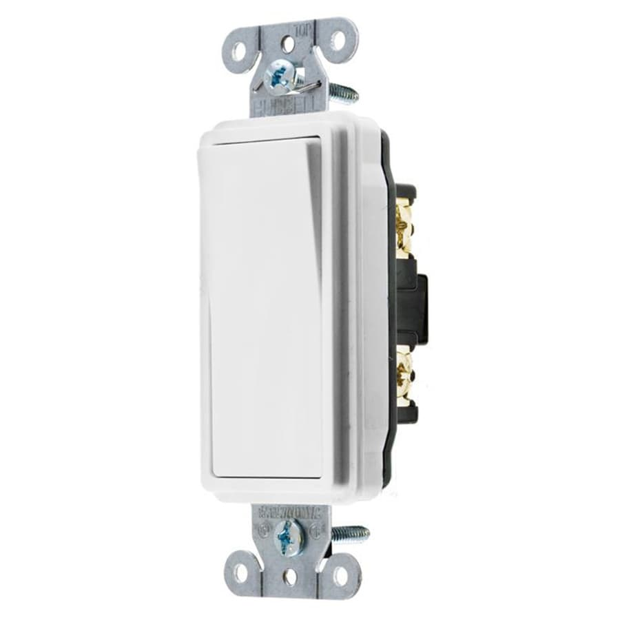 Dainty Hubbell Single Pole Rocker Light Switch Shop Hubbell Single Pole Rocker Light Switch Rocker Light Switch Repair Rocker Light Switch Won T Stay On houzz 01 Rocker Light Switch