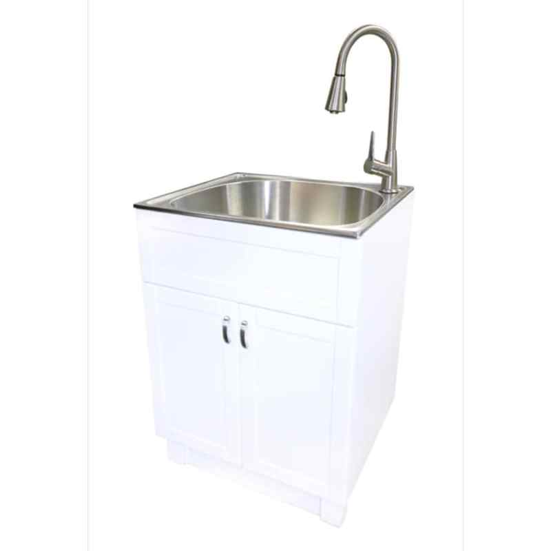 Large Of Stainless Steel Laundry Sink