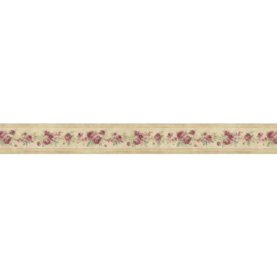 Shop Norwall 3.5-in Red Prepasted Wallpaper Border at Lowes.com
