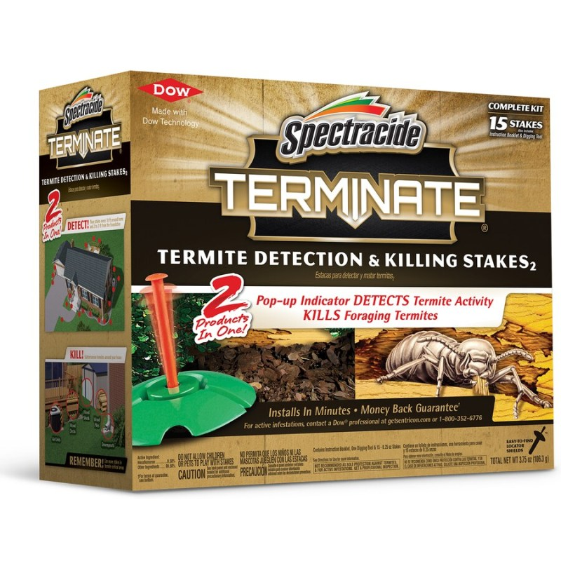 Rummy Spectracide Terminate Termite Detection Killing Stakes Shop At