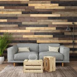 Shop Ufp Edge 10 3 Sq Ft Distressed Wood Wall Plank Kit at Lowes Com